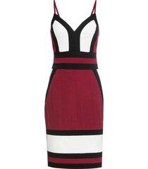 abito color block (rosso) - bodyflirt boutique