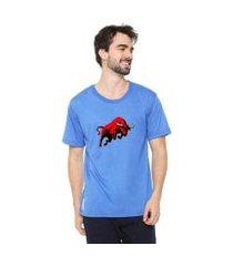 camiseta eco canyon bulls masculina