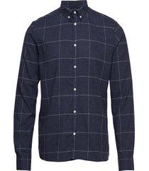 desert shirt skjorta business blå les deux