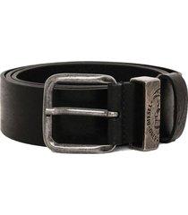 cinturon b frag belt negro diesel