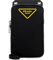 prada nylon mobile phone pouch