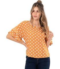 blusa charlotte amarillo ragged pf12110527