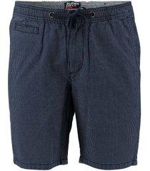 korte chino broek sunscorched donkerblauw