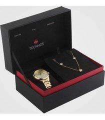 relógio technos 2015ccl/k4x dourado