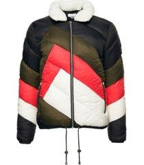 superdry women's splice padded jacket