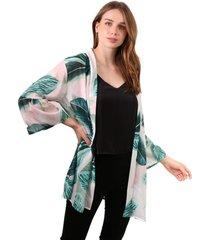 kimono gala floral print jacinta tienda