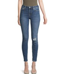 true religion women's jennie high-rise super skinny jeans - blue - size 28 (4-6)