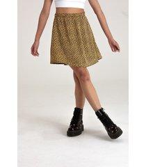 minifalda leopard