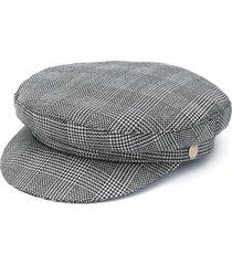 manokhi x toukitsou greek fisherman hat - black