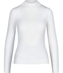 fendi all over logo sweater