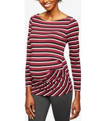 a pea in the pod maternity ruched jersey top