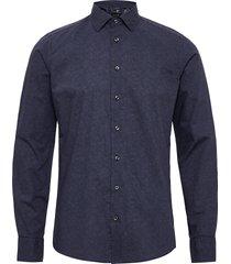 8669 - iver 2 soft overhemd business blauw sand