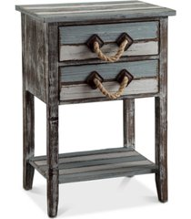 nantucket 2-drawer table