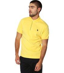 camiseta polo amarilla us polo assn
