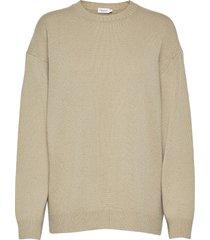 ava sweater stickad tröja beige filippa k