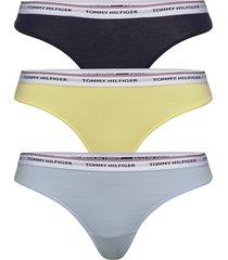 3p thong stringtrosa underkläder gul tommy hilfiger