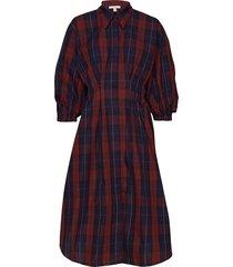 viola jurk knielengte rood dagmar
