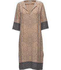 day electric jurk knielengte beige day birger et mikkelsen