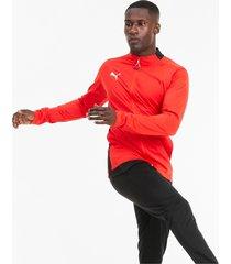 ftblplay trainingspak voor heren, rood/zwart, maat s | puma