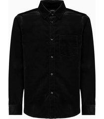 a.p.c. shirt coeab-h02380