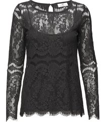 day twillight blouse lange mouwen zwart day birger et mikkelsen