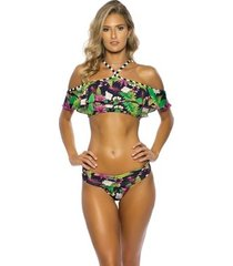 biquíni ciganinha kalini beachwear bromélias ii
