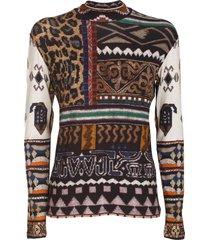 etro stretch sweater