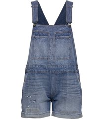 faeroes bf short overall rp tu wmn jumpsuit blauw g-star raw