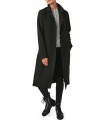 women's bernardo sweater long coat, size x-large - grey
