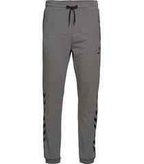 hmlray pants sweatpants mjukisbyxor grå hummel