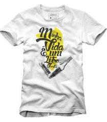 t-shirt litro abertis reserva - masculino