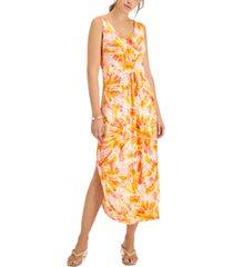 willow drive empire-waist knit maxi dress