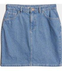 falda azul seven seven