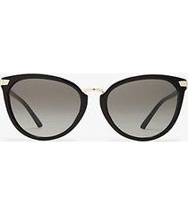mk occhiali da sole claremont - nero (nero) - michael kors
