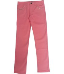 pantalón rosa mapamondo edna