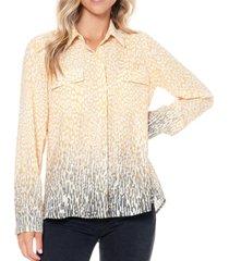 fever women's button up shirt