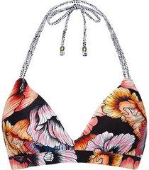 bikini beachlife california poppies underwired preformed swimsuit top