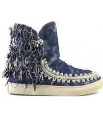 mou summer eskimo denim sneakers
