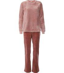 pijama hering pelo rosa