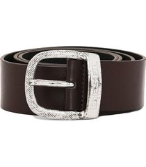 cinturon bawre belt marron diesel