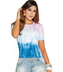 blusa multicolor seven7 y-026