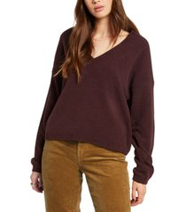 volcom juniors' v-neck sweater