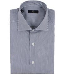 fay blue cotton shirt