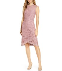 women's adelyn rae doreen lace cocktail dress