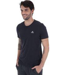 camiseta adidas urban - masculina - azul escuro