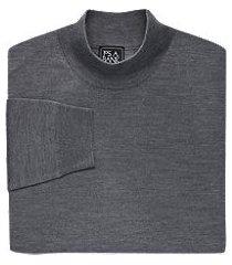 traveler collection merino wool mock neck men's sweater - big & tall