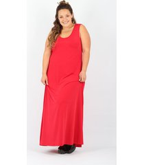 vestido rojo minari seda silea