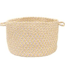 colonial mills blokburst braided storage basket