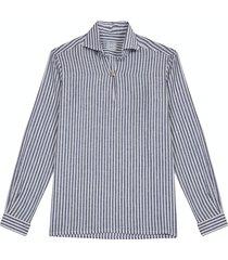ripa ripa capri righe larghe shirt