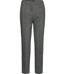 campale pantalon met rechte pijpen grijs weekend max mara